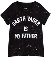 Little Eleven Paris Darth Vader Is My Father Print Tee