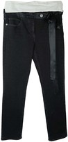 Chanel Anthracite Cotton Jeans for Women