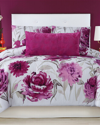 Christian Siriano Remy Floral Comforter Set