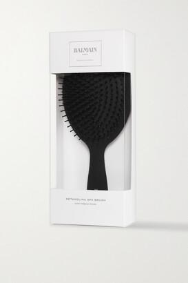 Balmain Paris Hair Couture Detangling Spa Brush - Black