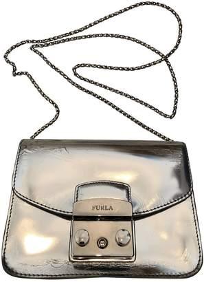 Furla Metropolis Metallic Leather Handbags