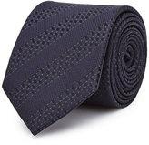 Reiss Shaw Tonal Stripe Silk Tie