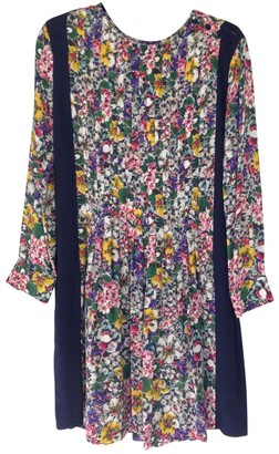 Band Of Outsiders Multicolour Silk Dress for Women