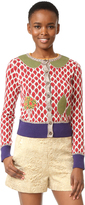 RED Valentino Pattern Cardigan