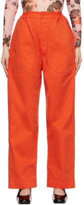 Henrik Vibskov Red Tanoi Trousers