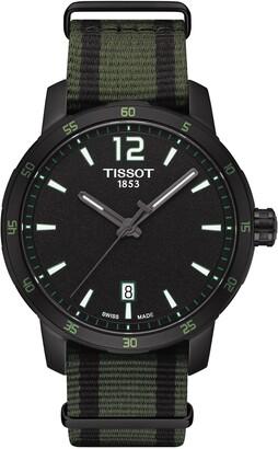Tissot Men's Quickster NATO Strap Watch, 40mm