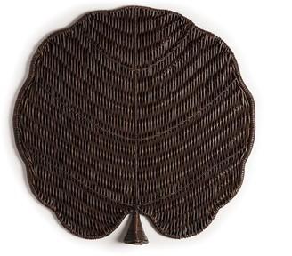 Natori Maranao Circle Leaf Tray
