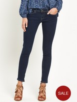 Pepe Jeans Pepe Cher Low Rise Cropped Ankle Zip Jean