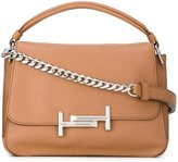 Tod's metal clasp tote bag - women - Leather - One Size