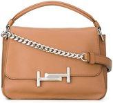 Tod's metal clasp tote bag