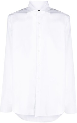 Fay French collar long-sleeved shirt