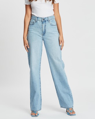 Nobody Denim Lou Straight Jeans