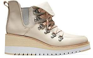 Cole Haan Women's ZeroGrand Wedge Leather Hiking Boots