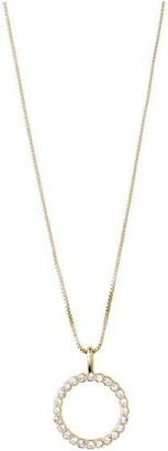 Pilgrim Necklace : Malin : Gold Plated : Crystal