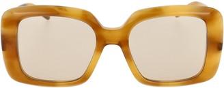 Pomellato Eyewear Oversized Square Frame Sunglasses