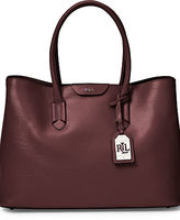 Ralph Lauren Saffiano Leather Tate Tote