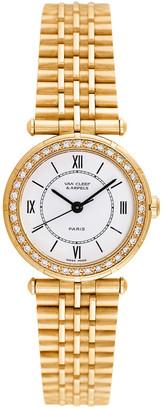 Van Cleef & Arpels Women's Classique Diamond Watch, Circa 2000S