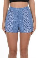 Gala Blue Printed Shorts