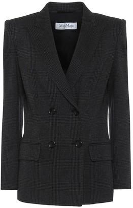 Max Mara Madison wool-blend blazer
