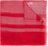 Salvatore Ferragamo fine signature scarf - women - Cashmere/Cupro/Polyester - One Size