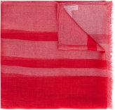 Salvatore Ferragamo fine signature scarf - women - Polyester/Cupro/Cashmere - One Size