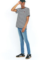 Cheap Monday Tight Blue Wave Skinny Jeans