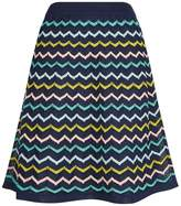 M Missoni Pastel Zig Zag Mini Skirt