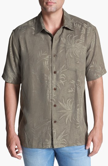 Quiksilver Waterman Collection Waterman 'Panui Cove' Campshirt