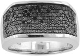 Black Diamond FINE JEWELRY Mens 1 CT. T.W. Color-Enhanced Ring