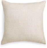 "Hotel Collection Linen 22"" Square Decorative Pillow"