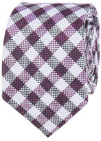 Ben Sherman Textured Check Tie