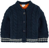 3 Pommes Lined cardigan