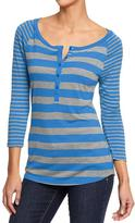 Old Navy Women's Raglan-Sleeve Henleys