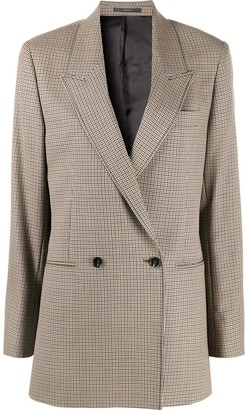 Paul Smith Double Breasted Houndstooth Blazer