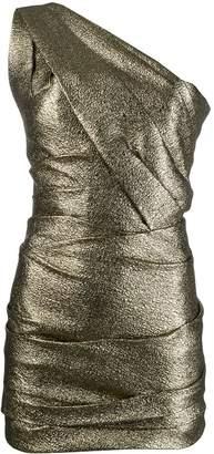 DSQUARED2 one-shoulder mini cocktail dress