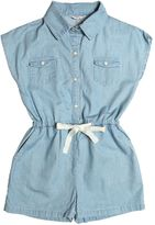 Nice Things Cotton Chambray Jumpsuit