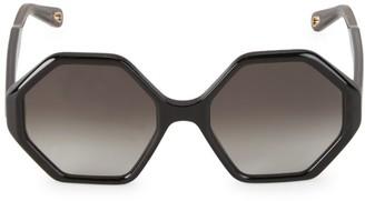 Chloé Willow 52MM Octagon Sunglasses
