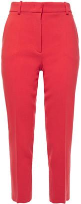 Emilio Pucci Cropped Wool-blend Crepe Slim-leg Pants