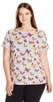 Rafaella Women's Butterfly Dot Tee
