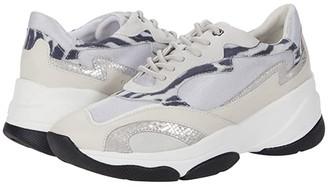 Geox Kirya 10 D92BPB (Light Grey/Off-White) Women's Shoes