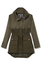 Vince Camuto Mixed-material Anorak