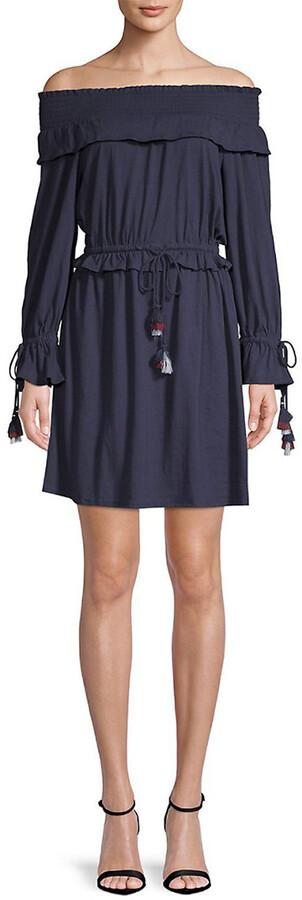 Rebecca Minkoff Isla Off-The-Shoulder Dress
