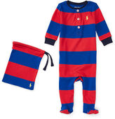 Ralph Lauren Boy Striped Cotton Pajamas