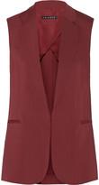 Theory Adar stretch-gabardine vest