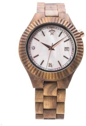 Mother of Pearl Bean & Vanilla Koa Watch