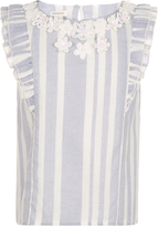 Monsoon Celia Woven Stripe Top