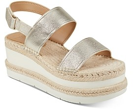 Marc Fisher Women's Gallia Espadrille Platform Sandals