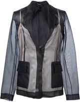 Maison Margiela lingerie detail blazer