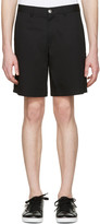 Versace Black Medusa Bermuda Shorts