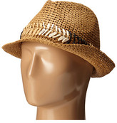 Steve Madden Fedora with Cehvron Band